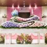 お花で送る葬儀 生花祭壇